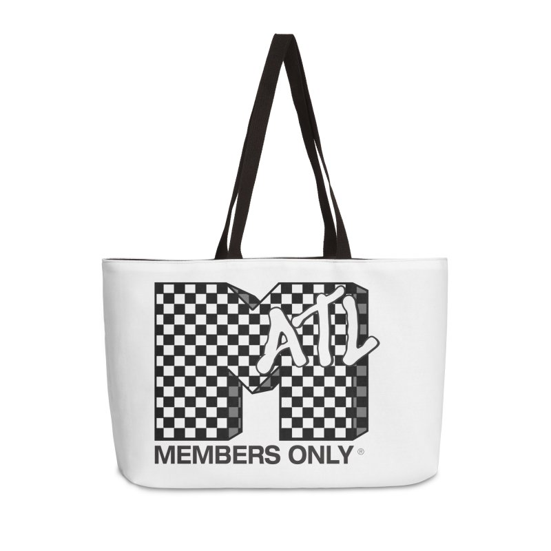 I want my Members Only- Checker Accessories Weekender Bag Bag by Members Only ATL Artist Shop