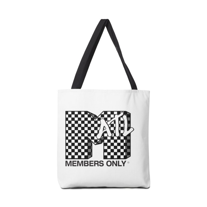 I want my Members Only- Checker Accessories Tote Bag Bag by Members Only ATL Artist Shop