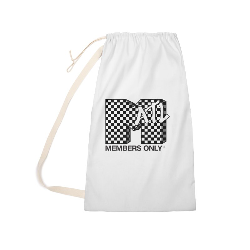 I want my Members Only- Checker Accessories Laundry Bag Bag by Members Only ATL Artist Shop