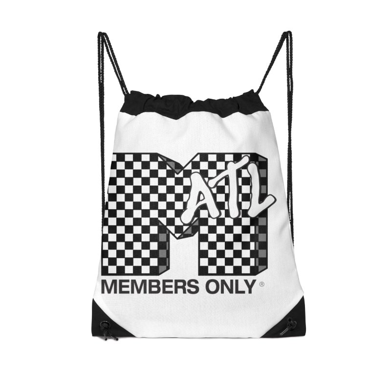 I want my Members Only- Checker Accessories Drawstring Bag Bag by Members Only ATL Artist Shop