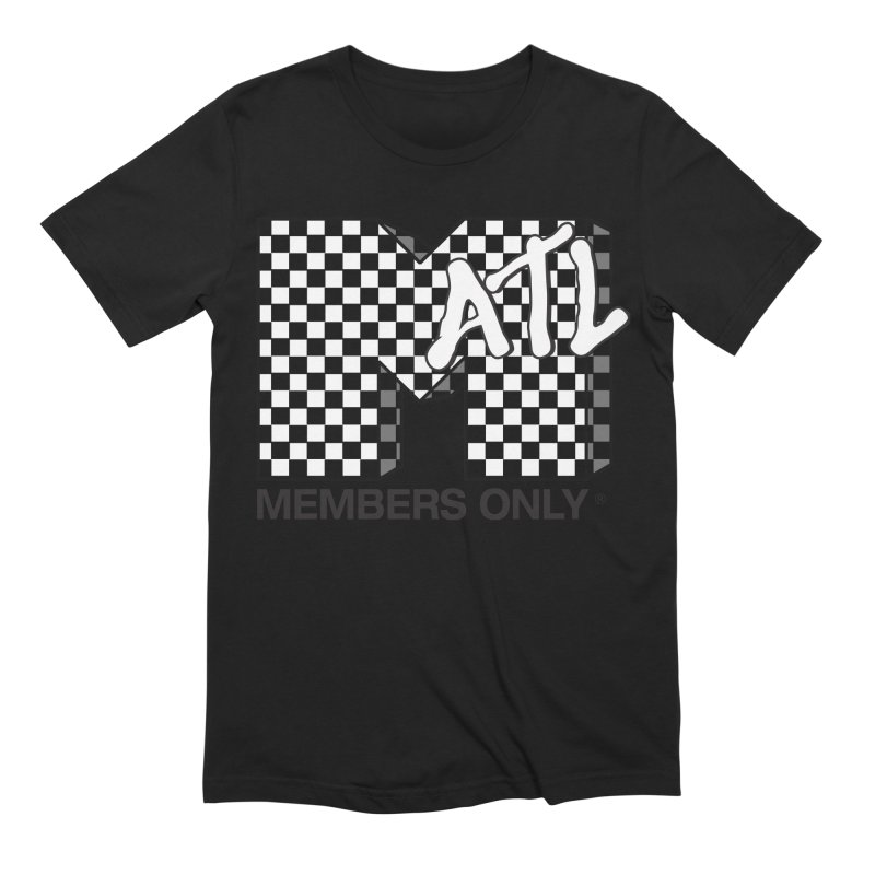 I want my Members Only- Checker Men's Extra Soft T-Shirt by Members Only ATL Artist Shop