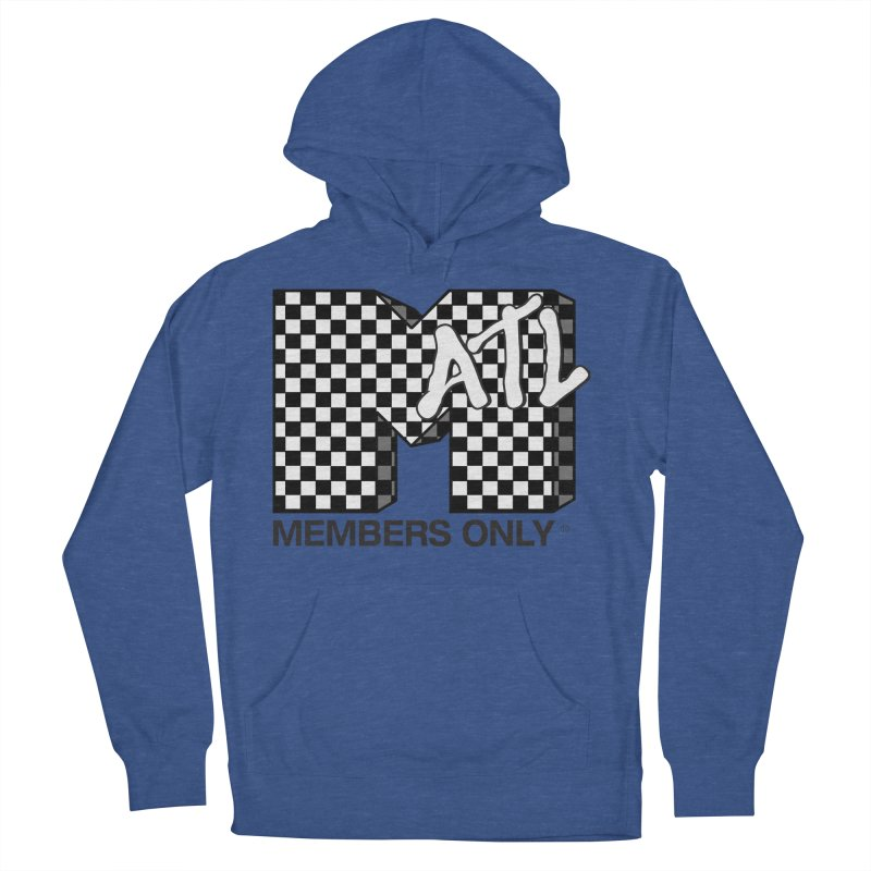 I want my Members Only- Checker Women's French Terry Pullover Hoody by Members Only ATL Artist Shop