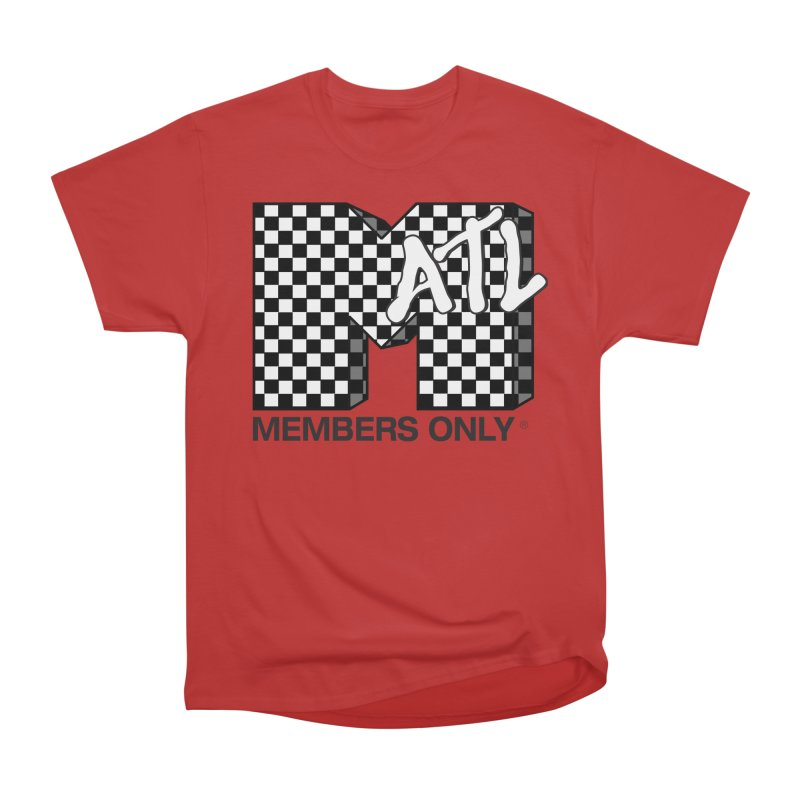 I want my Members Only- Checker Men's Heavyweight T-Shirt by Members Only ATL Artist Shop