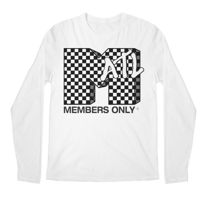 I want my Members Only- Checker Men's Regular Longsleeve T-Shirt by Members Only ATL Artist Shop