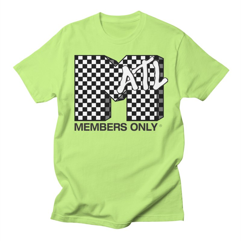 I want my Members Only- Checker Women's Regular Unisex T-Shirt by Members Only ATL Artist Shop