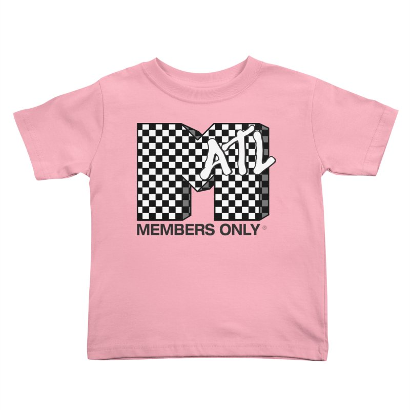 I want my Members Only- Checker Kids Toddler T-Shirt by Members Only ATL Artist Shop