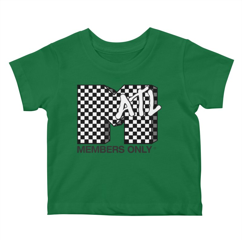 I want my Members Only- Checker Kids Baby T-Shirt by Members Only ATL Artist Shop