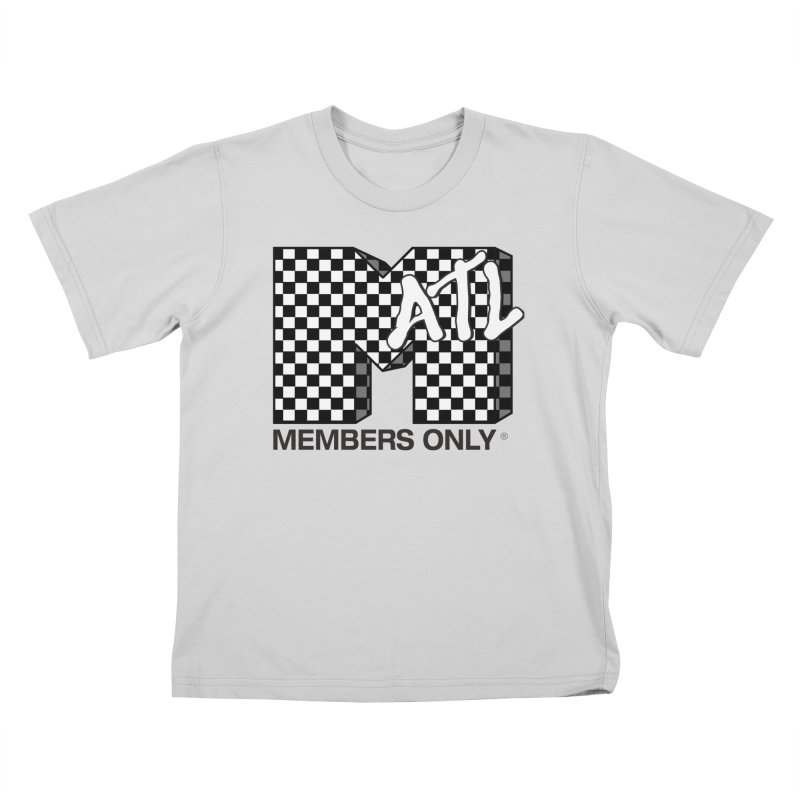 I want my Members Only- Checker Kids T-Shirt by Members Only ATL Artist Shop