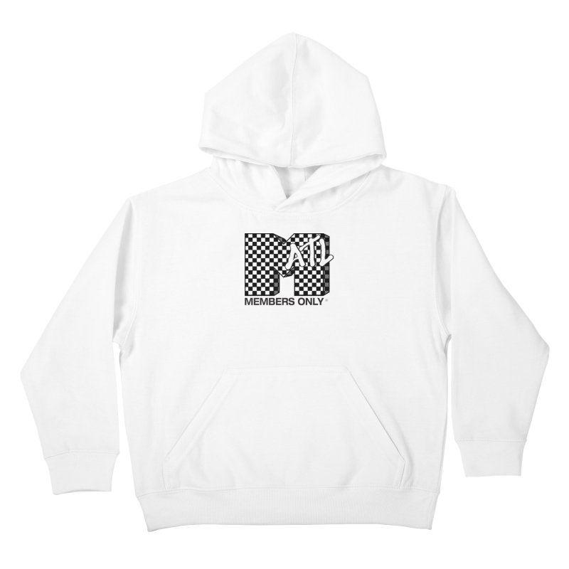 I want my Members Only- Checker Kids Pullover Hoody by Members Only ATL Artist Shop