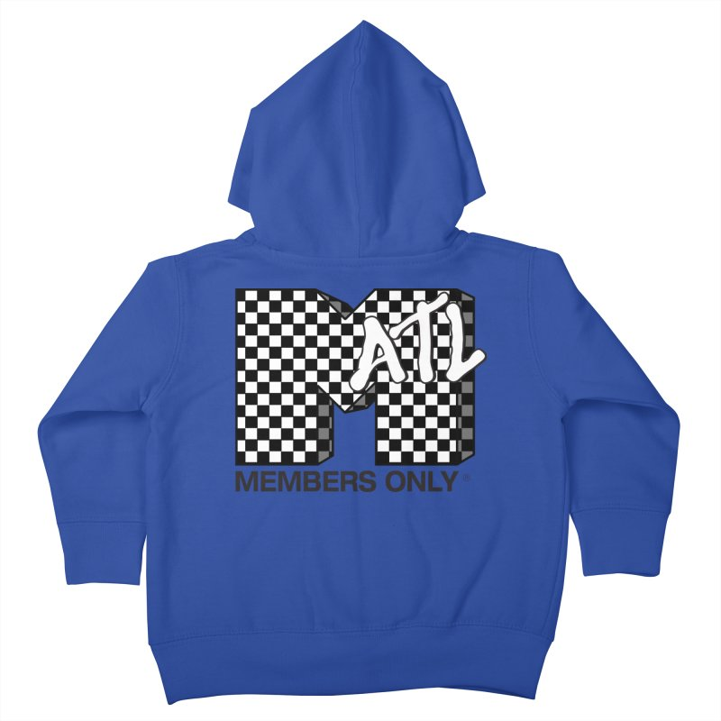 I want my Members Only- Checker Kids Toddler Zip-Up Hoody by Members Only ATL Artist Shop