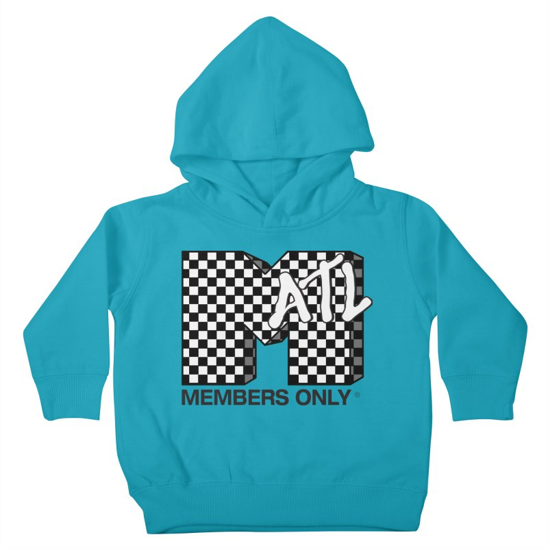 I want my Members Only- Checker Kids Toddler Pullover Hoody by Members Only ATL Artist Shop