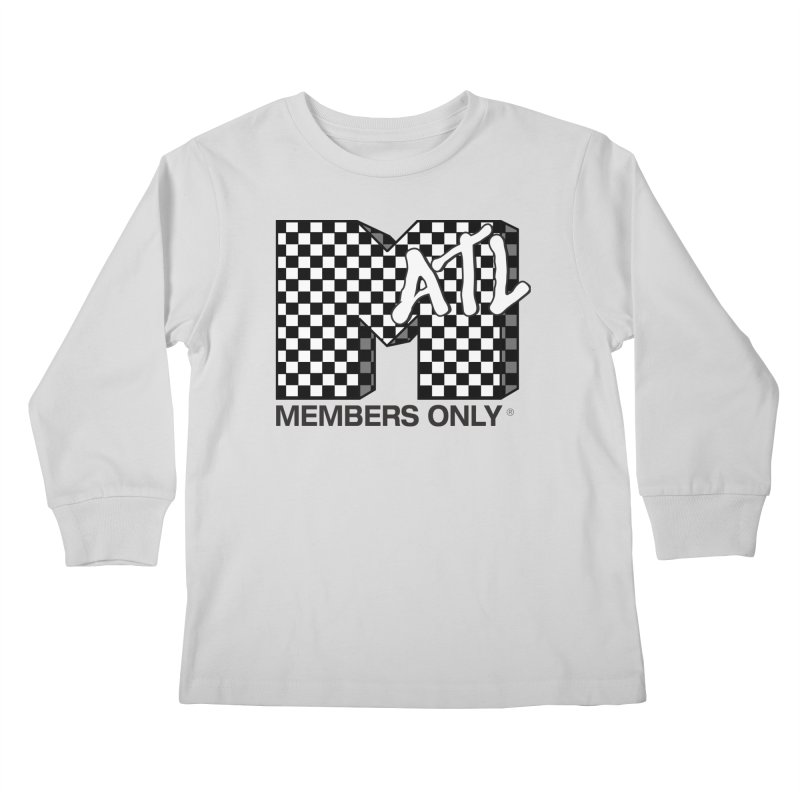 I want my Members Only- Checker Kids Longsleeve T-Shirt by Members Only ATL Artist Shop
