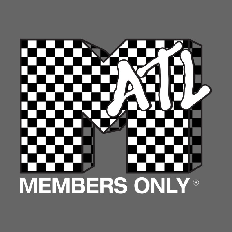 I Want My Members Only Checker White by Members Only ATL Artist Shop