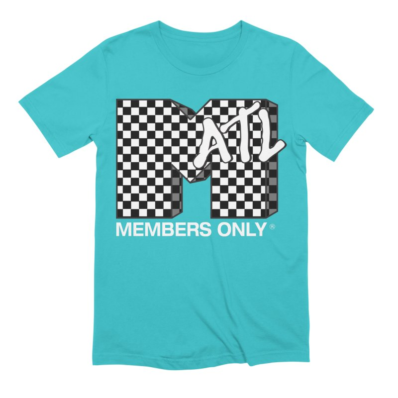 I Want My Members Only Checker White Men's Extra Soft T-Shirt by Members Only ATL Artist Shop