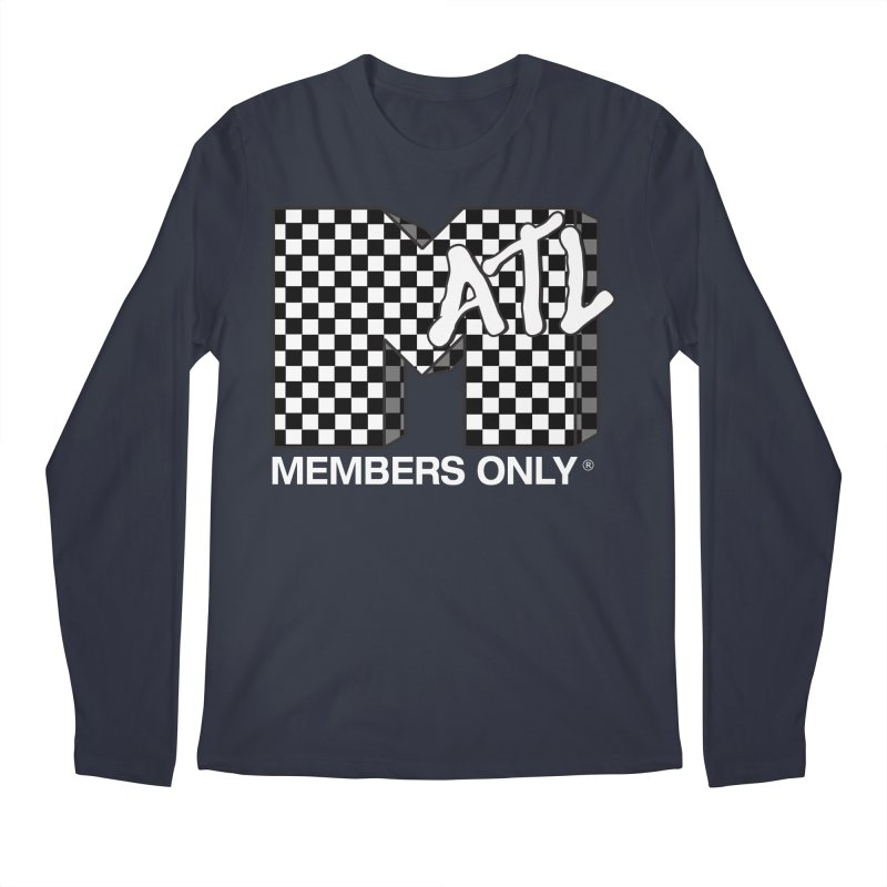 I Want My Members Only Checker White Men's Regular Longsleeve T-Shirt by Members Only ATL Artist Shop