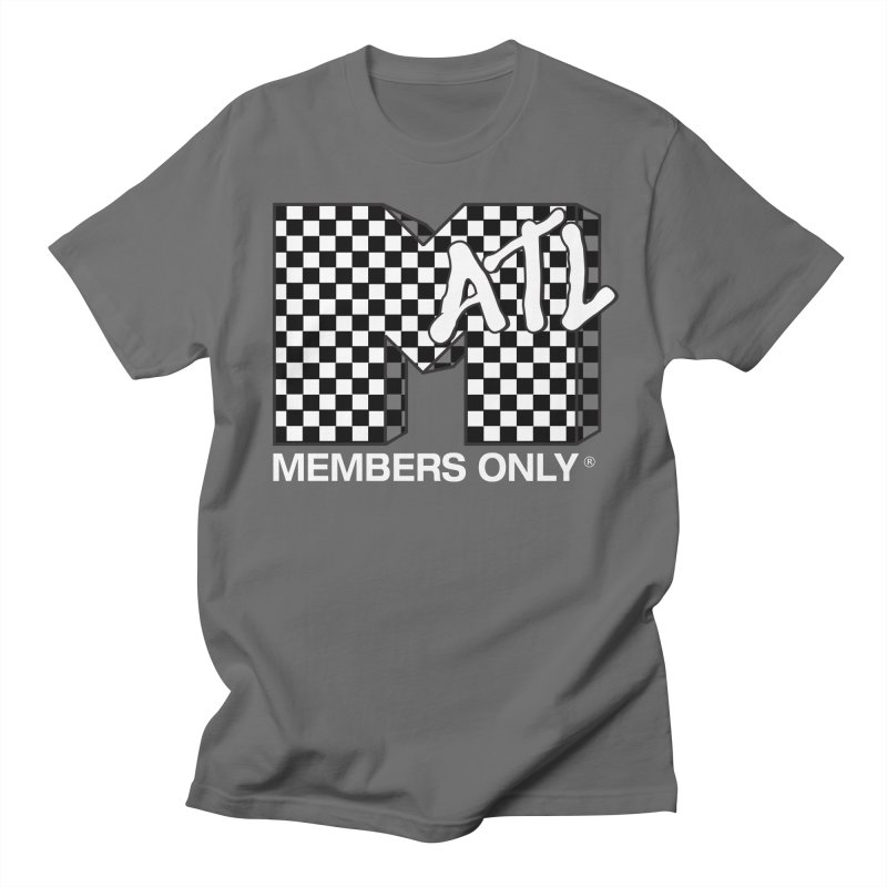 I Want My Members Only Checker White Men's T-Shirt by Members Only ATL Artist Shop