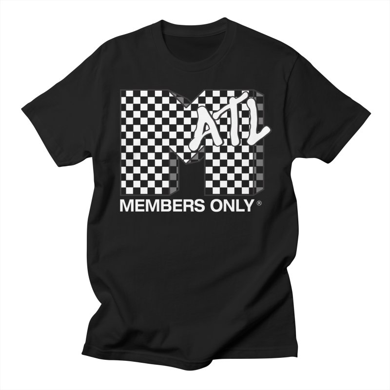 I Want My Members Only Checker White Women's Regular Unisex T-Shirt by Members Only ATL Artist Shop