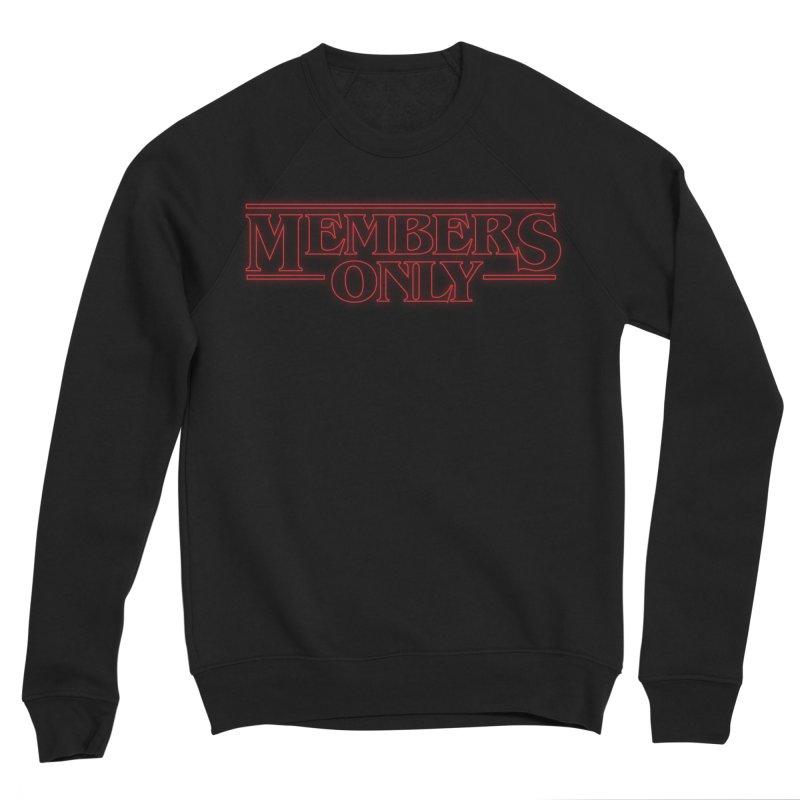 Stranger Things Glow Men's Sponge Fleece Sweatshirt by Members Only ATL Artist Shop
