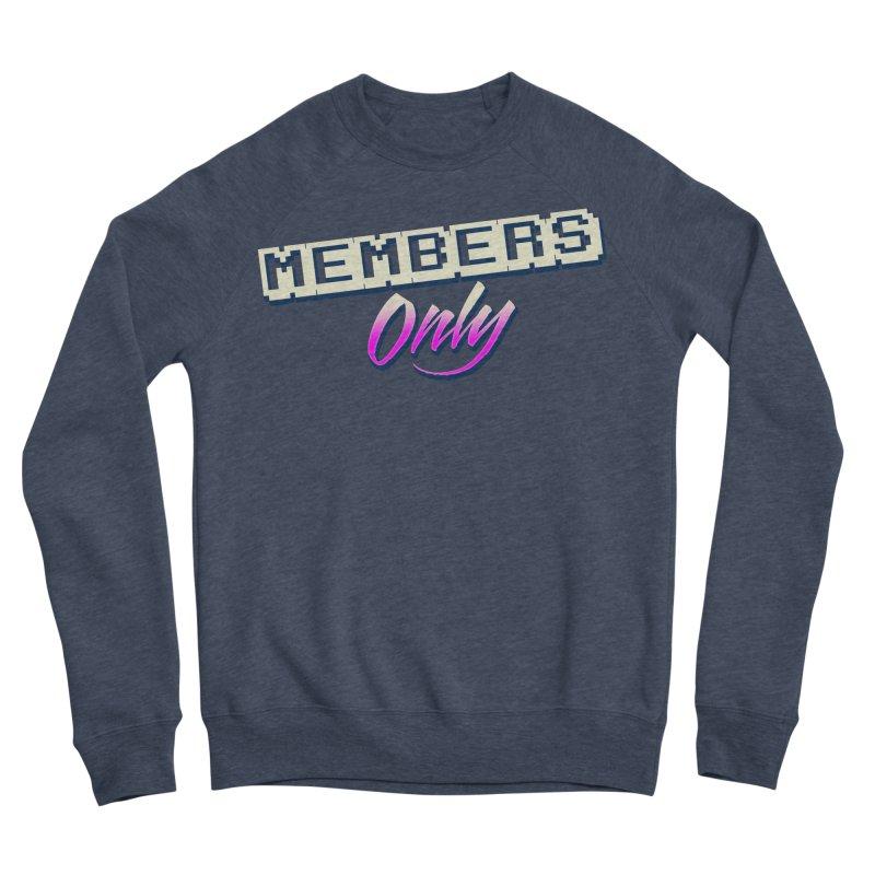 MO Logo Men's Sponge Fleece Sweatshirt by Members Only ATL Artist Shop