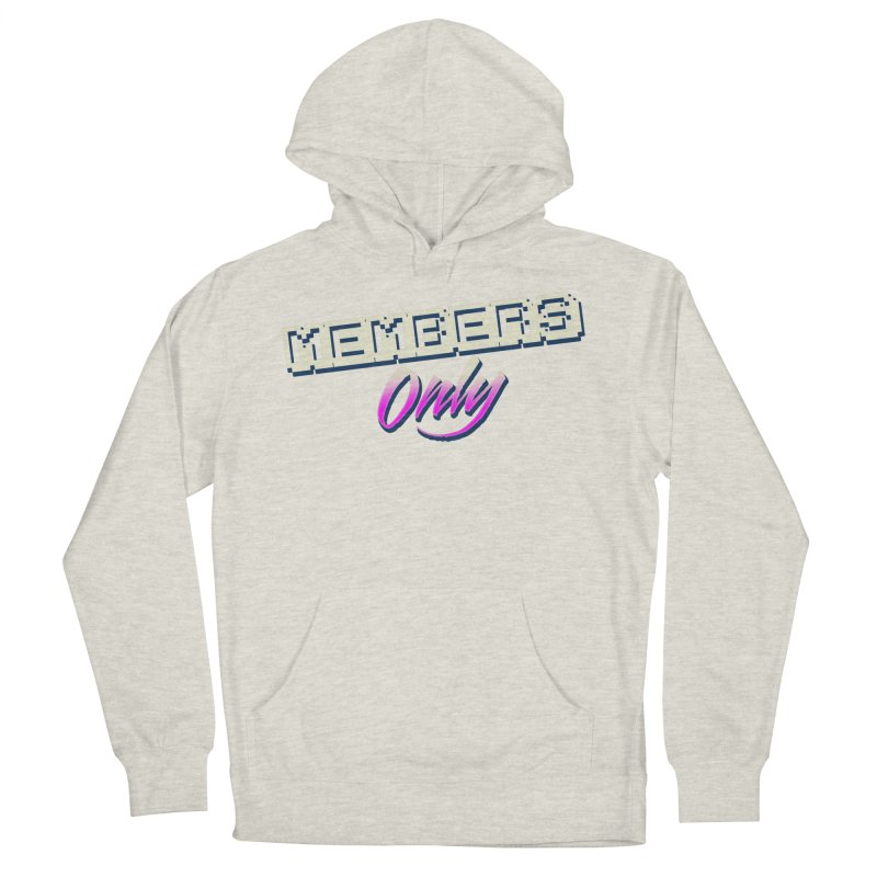 MO Logo Men's French Terry Pullover Hoody by Members Only ATL Artist Shop