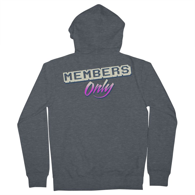 MO Logo Women's French Terry Zip-Up Hoody by Members Only ATL Artist Shop