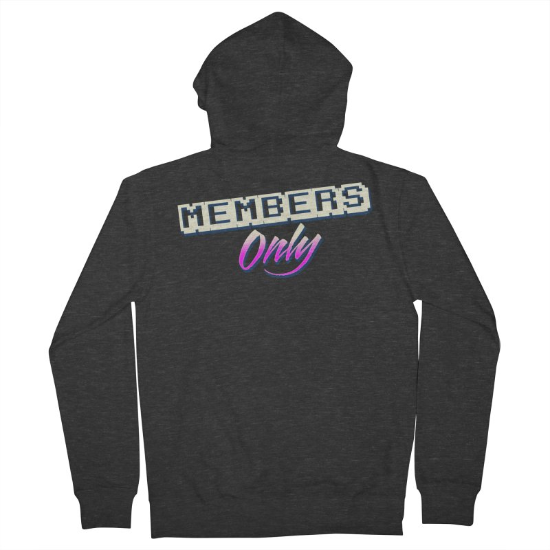 MO Logo Men's French Terry Zip-Up Hoody by Members Only ATL Artist Shop