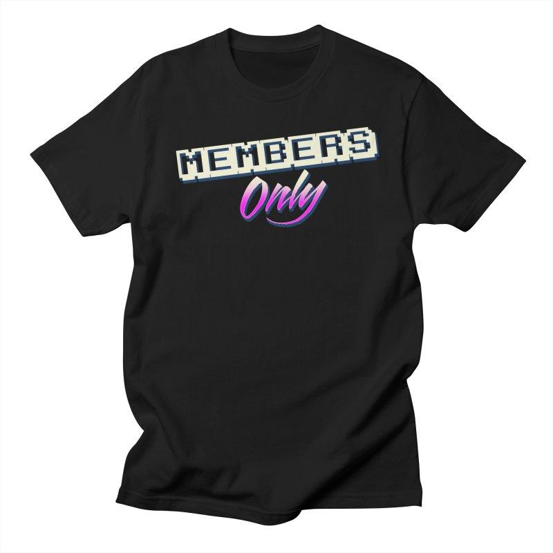 MO Logo Women's Regular Unisex T-Shirt by Members Only ATL Artist Shop