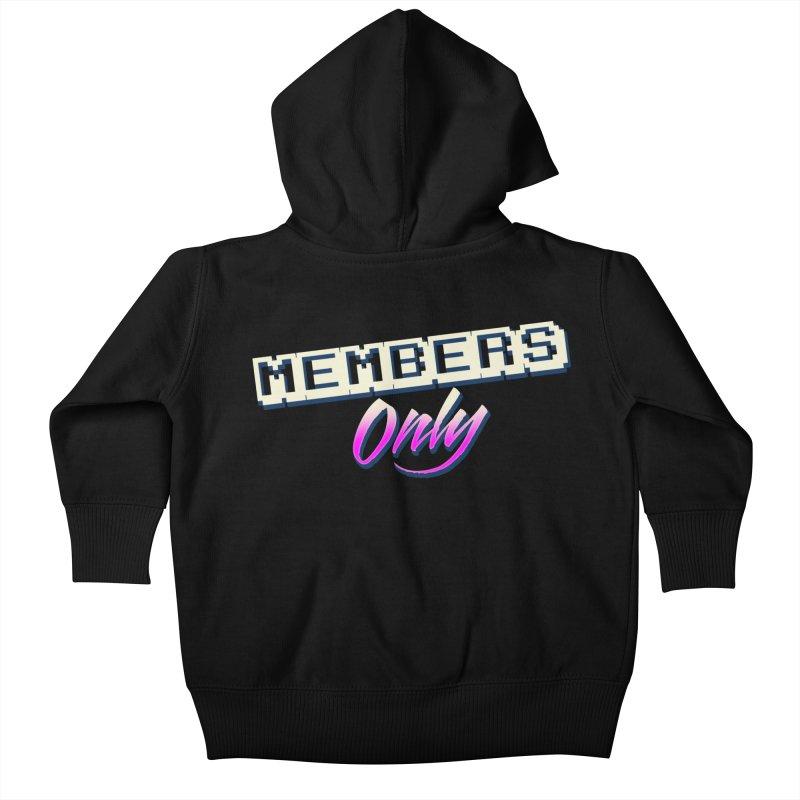 MO Logo Kids Baby Zip-Up Hoody by Members Only ATL Artist Shop