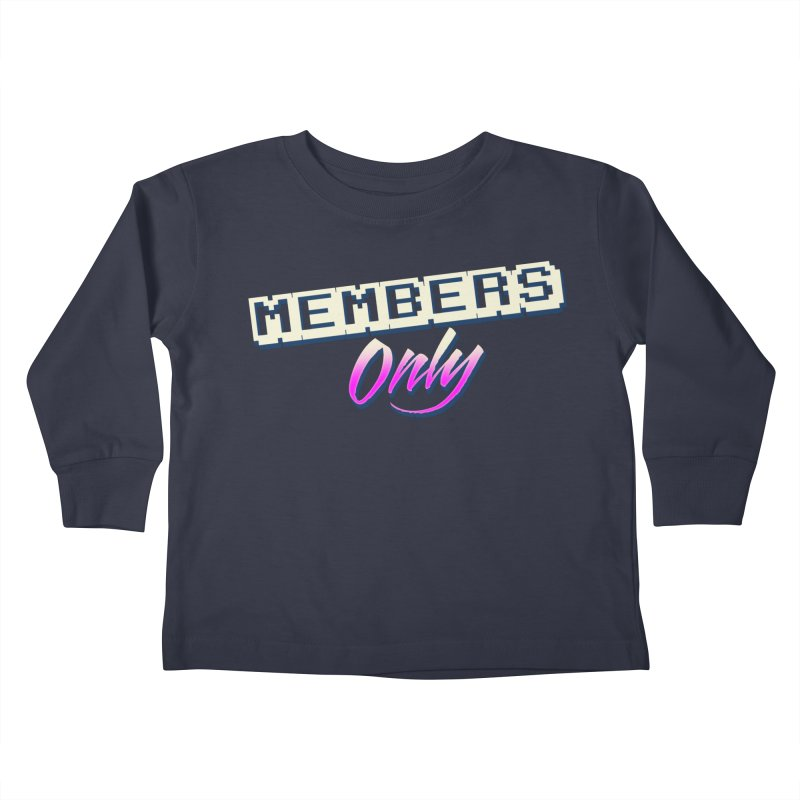 MO Logo Kids Toddler Longsleeve T-Shirt by Members Only ATL Artist Shop