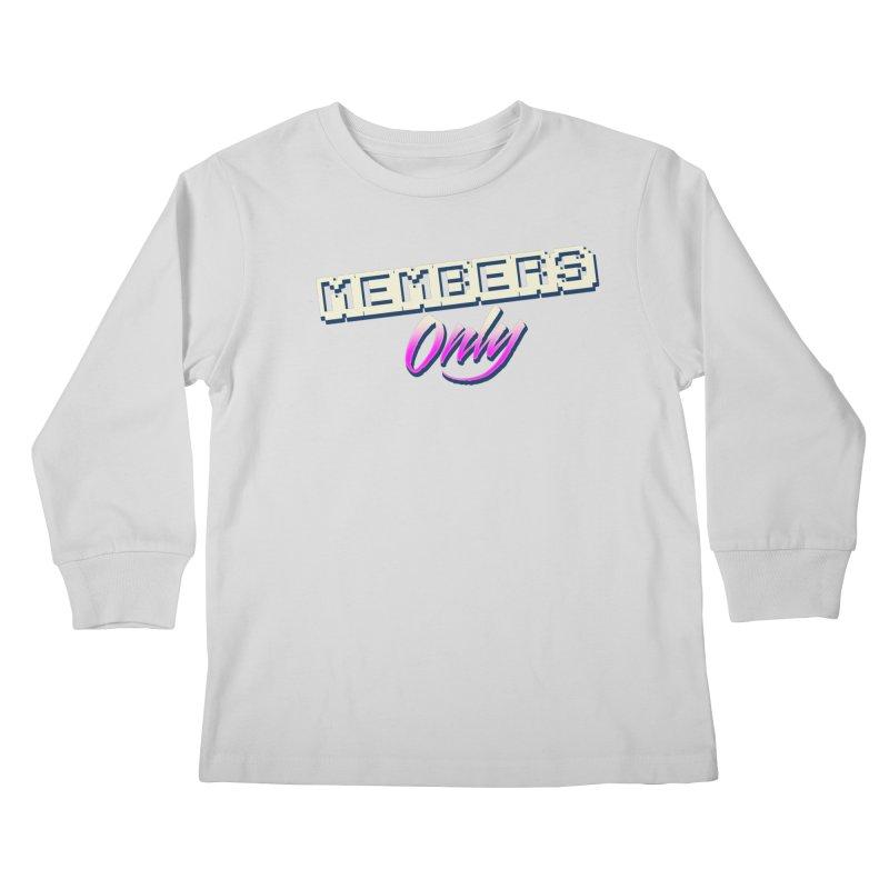 MO Logo Kids Longsleeve T-Shirt by Members Only ATL Artist Shop