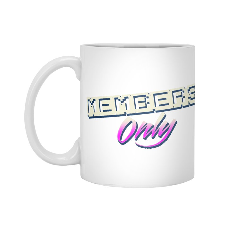 MO Logo Accessories Standard Mug by Members Only ATL Artist Shop