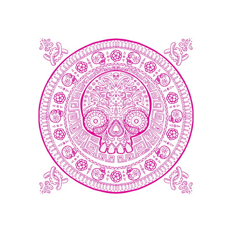 Mictlán pink by menabo's Artist Shop