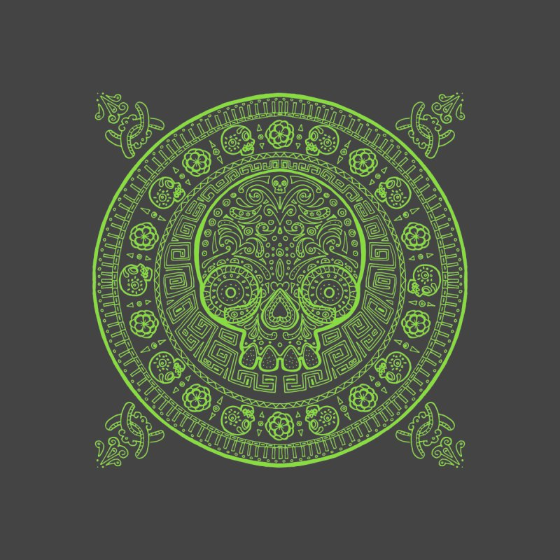 Mictlán green by menabo's Artist Shop
