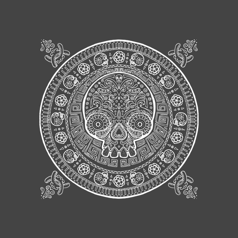 Mictlán White by menabo's Artist Shop