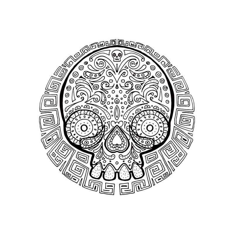 Mictlan Skull by menabo's Artist Shop