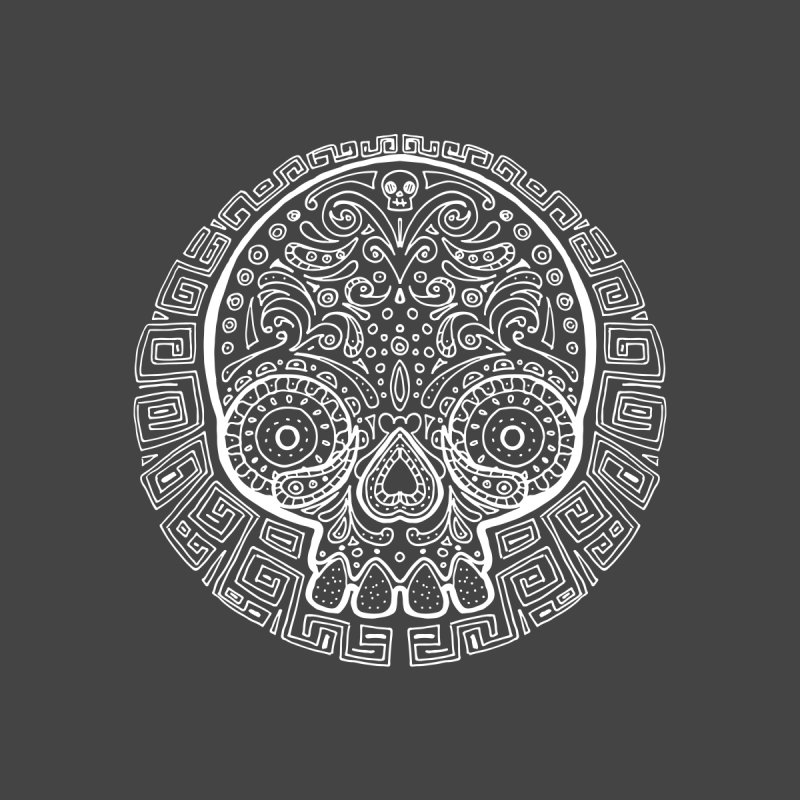 Mictlan skull white by menabo's Artist Shop