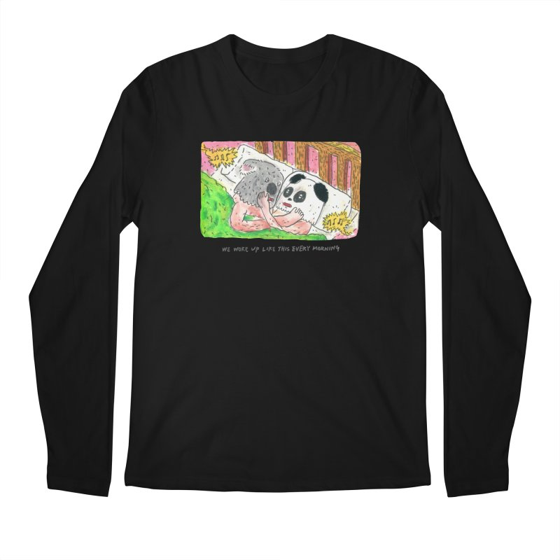 Cuddles Men's Longsleeve T-Shirt by mengolee's Artist Shop