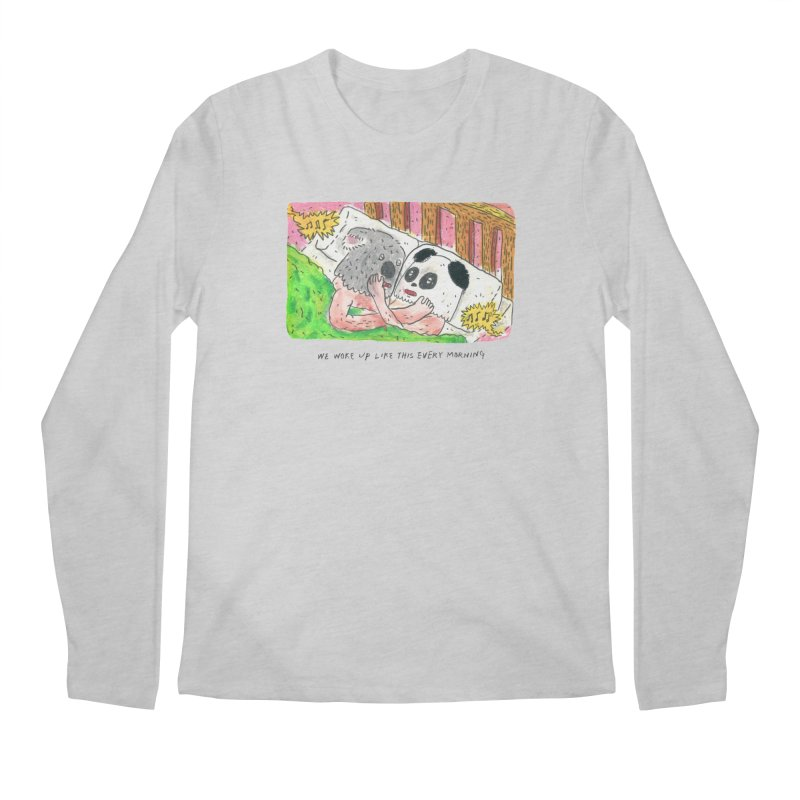 Cuddles Men's Longsleeve T-Shirt by mengolee's Artist Shop