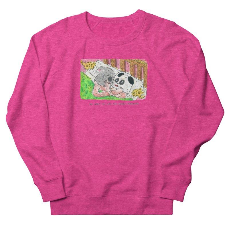 Cuddles Women's Sweatshirt by mengolee's Artist Shop