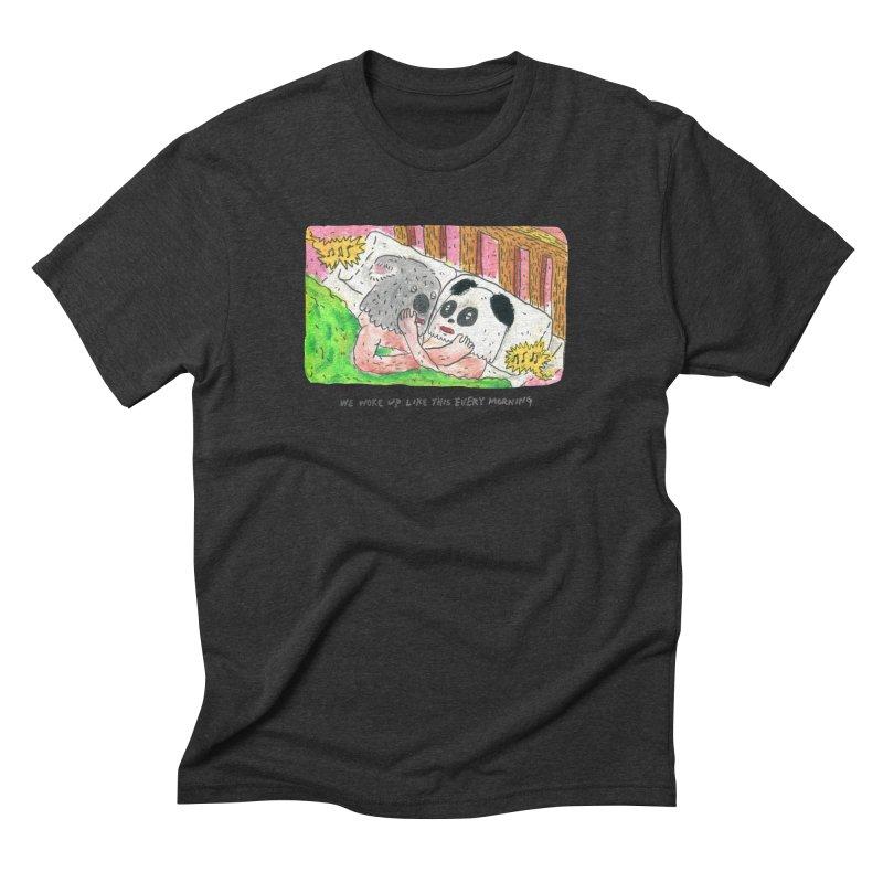 Cuddles Men's Triblend T-shirt by mengolee's Artist Shop