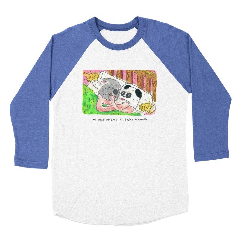 Cuddles Women's Baseball Triblend T-Shirt by mengolee's Artist Shop