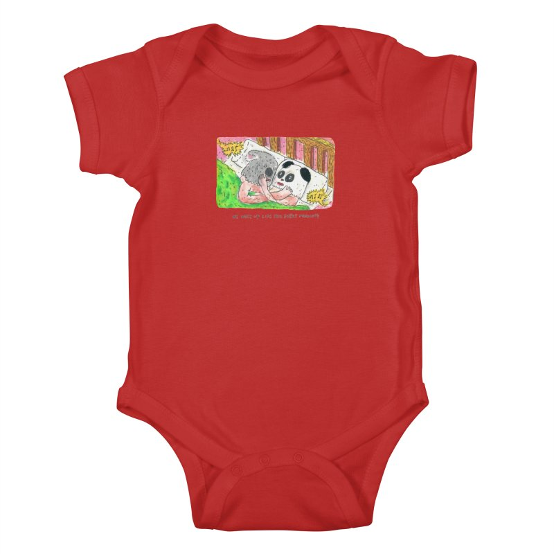 Cuddles Kids Baby Bodysuit by mengolee's Artist Shop