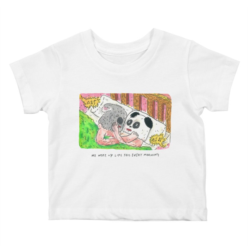 Cuddles Kids Baby T-Shirt by mengolee's Artist Shop