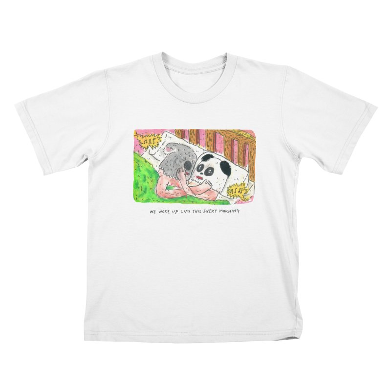 Cuddles Kids T-Shirt by mengolee's Artist Shop