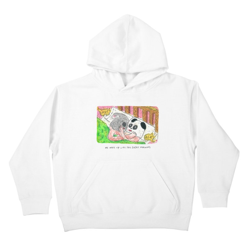 Cuddles Kids Pullover Hoody by mengolee's Artist Shop