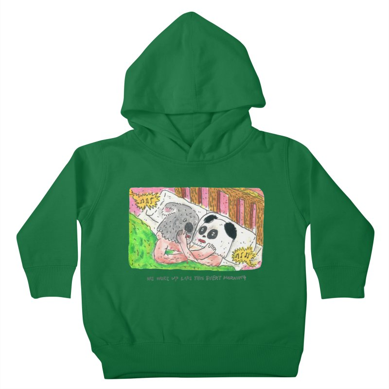 Cuddles Kids Toddler Pullover Hoody by mengolee's Artist Shop