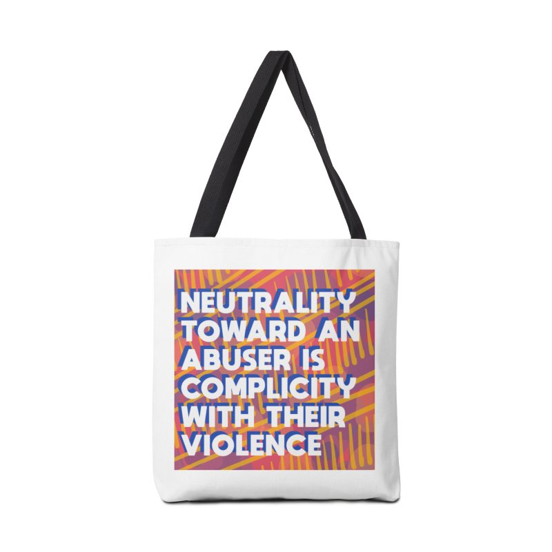 Neutrality Accessories Tote Bag Bag by Shirts and Things by Mensen