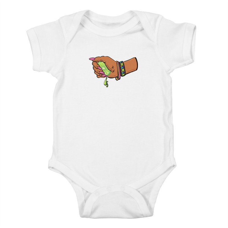 Squeeze Kids Baby Bodysuit by Shirts and Things by Mensen