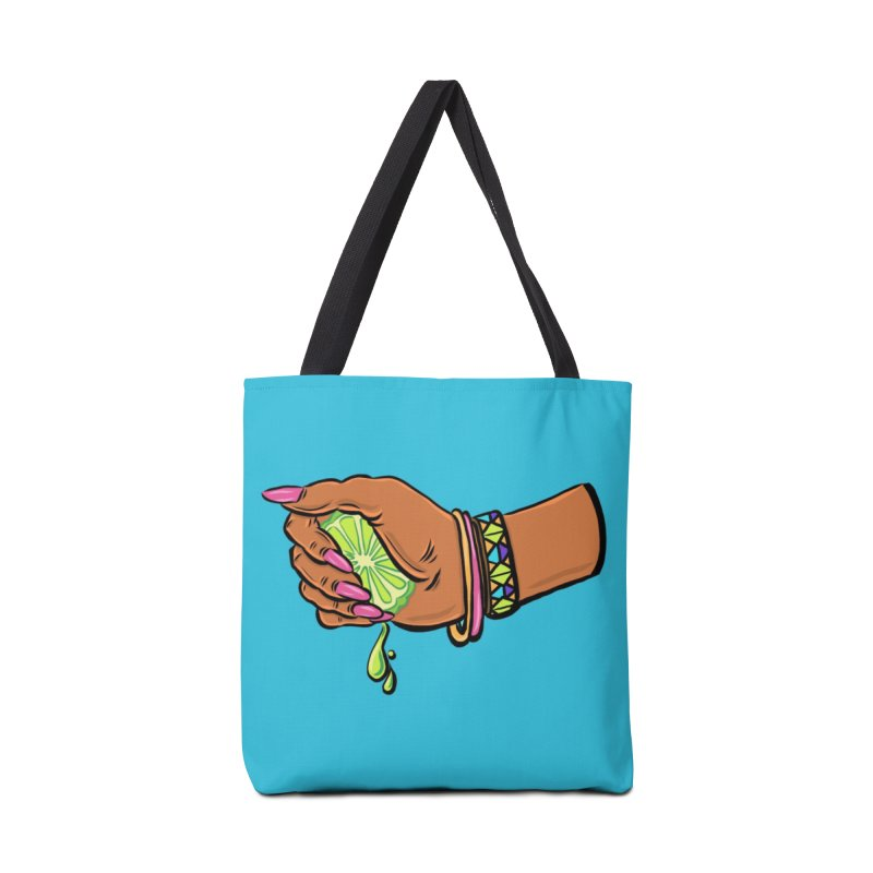 Squeeze Accessories Tote Bag Bag by Shirts and Things by Mensen