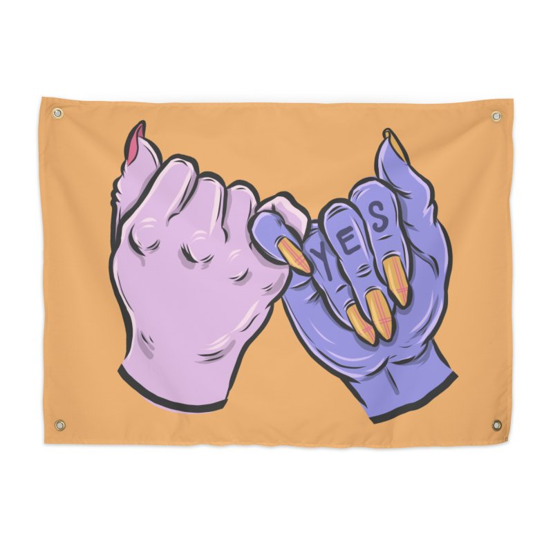Pinky Swear Home Tapestry by Shirts and Things by Mensen